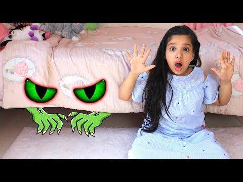 شفا قصة وحش تحت السرير Shfa Monster Under The Bed Story Youtube Monster Under The Bed Youtube The Creator