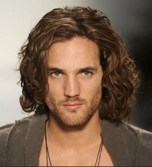 long curly hair for men / long curly hair men / rizos / long natural ...