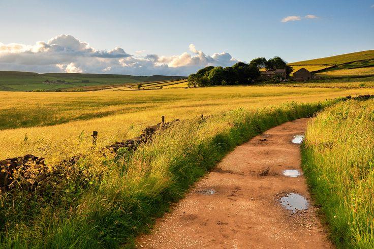 британия пейзаж дорога - Google Search