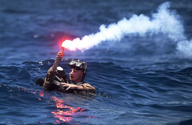 When disaster falls, Marines are there in no time.  (U.S. Marine Corps photo by Lance Cpl. Suzanna Lapi/Released)