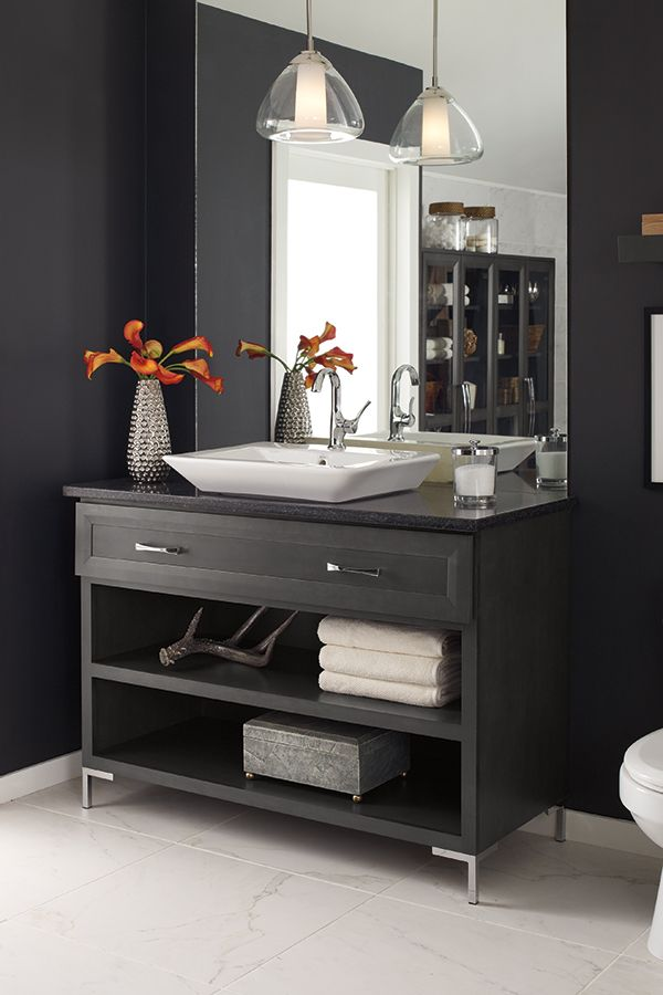 Ready For A Bathroom Remodel Find Inspiration And Organization Must Haves For Large And Small Bathro Decora Cabinets Masterbrand Cabinets Bathroom Inspiration