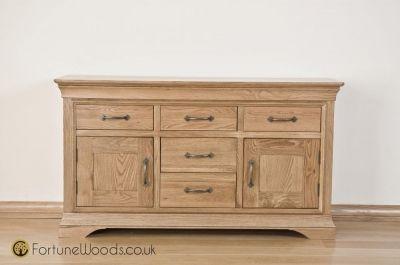Bordeaux Oak Sideboard - 4ft 6in