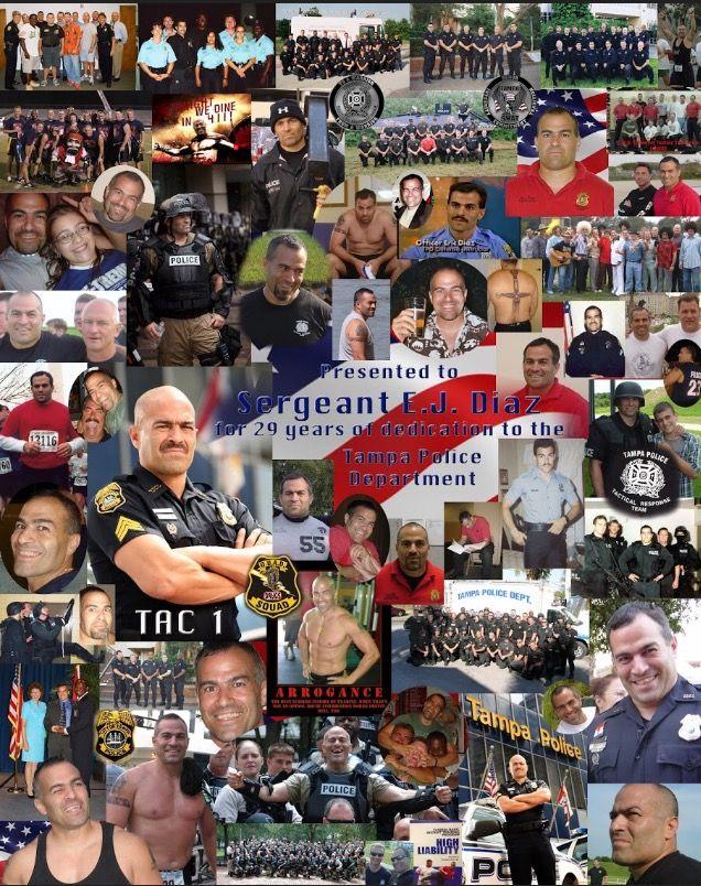 Congratulations on your retirement Sgt Eric Diaz!