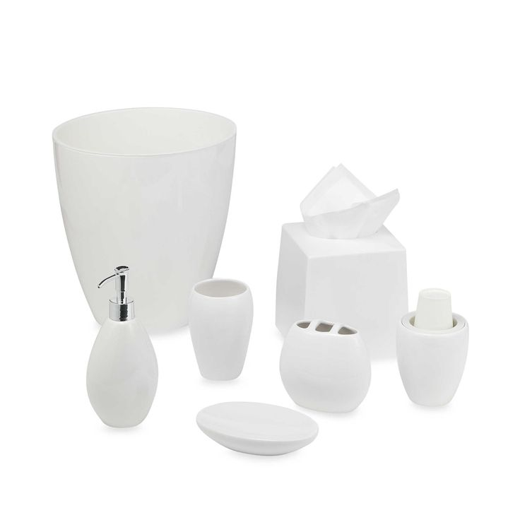Wamsutta  Elements White Toothbrush Holder  Bathroom OrganizationBed Bath    BeyondSoap. 22 best Bathroom accessories images on Pinterest   Bath