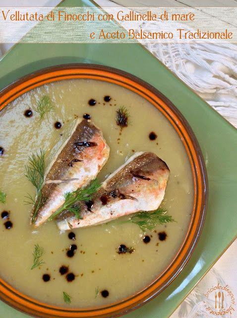Briciole di Sapori: Vellutata di finocchi, filetti di gallinella di ma...