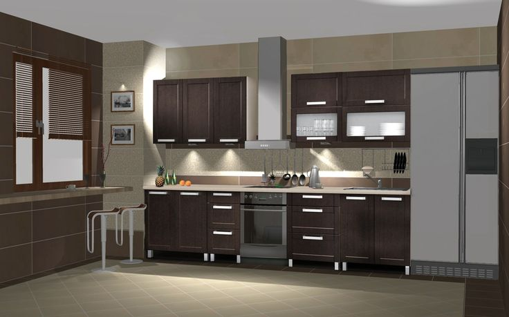 Ekran Venge - 260 cm-es blokk konyha  Mi kell az elegáns konyhádhoz? Modern, szögletes formák, elegáns konyhai elemek és a mostanság divatos venge szín. Készen is van konyhád éke, ami nem más, mint az Ekran Venge konyhai szett, amelynek elemei természetesen kívánság esetén variálható. www.knapp.hu