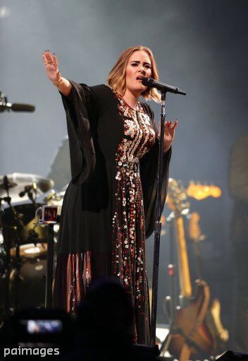 Adele at Glastonbury 2016