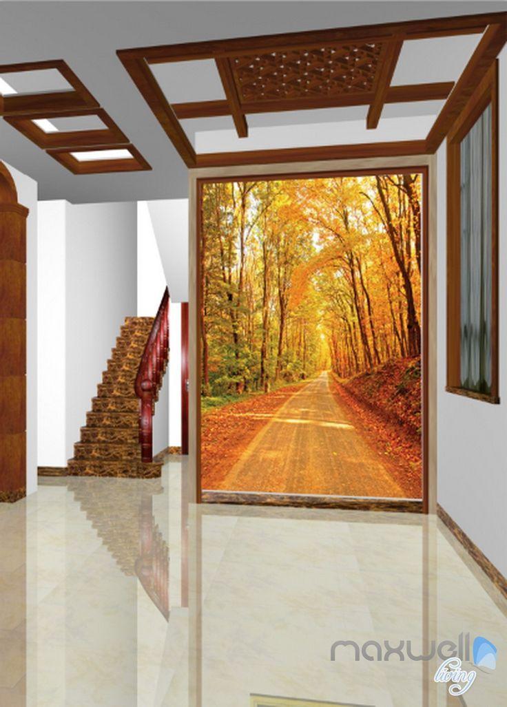 17 best ideas about 3d wall murals on pinterest wall murals bedroom photo wallpaper and 3d wall - Corridor entrance ...