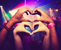 Rave with me and stay with me babe <3