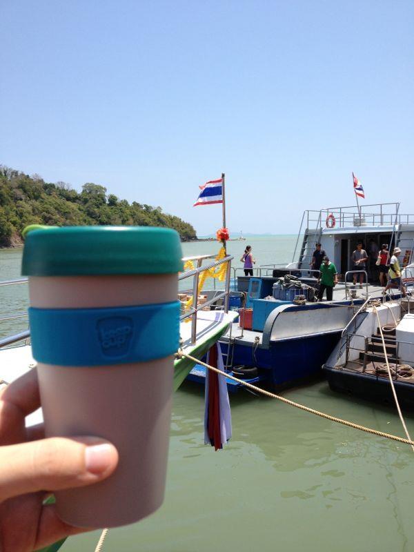 Thailand, KeepCup, Milujito :-)