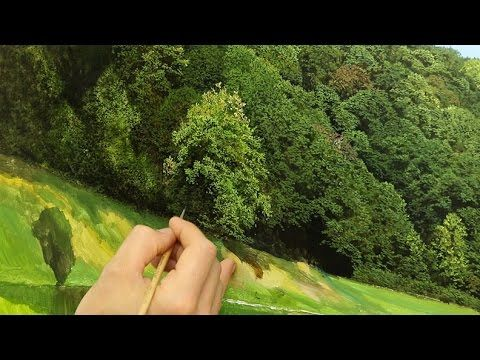 #66 Techniques For Painting Trees   Michael James Smith - YouTube