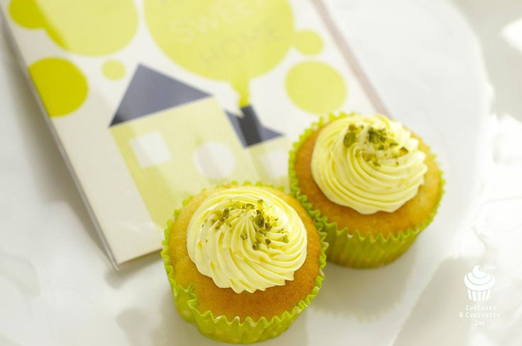 ginger & lemon cupcakes