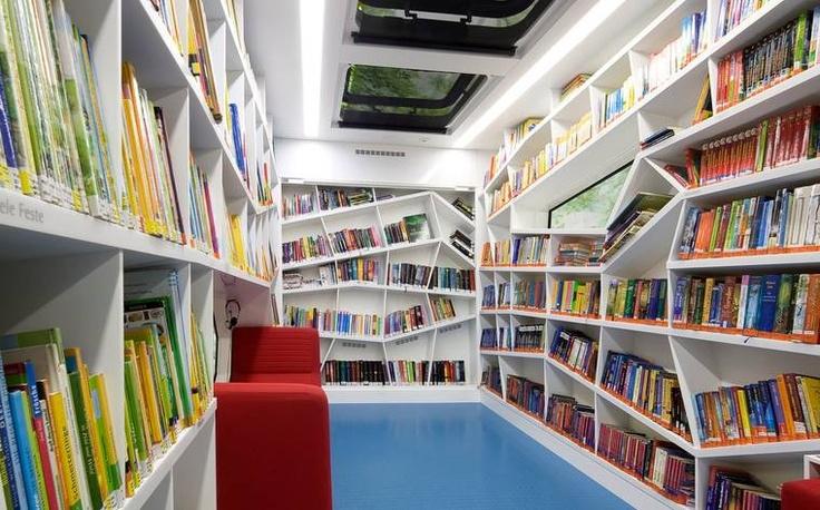 Bookshelf: Robi rolling Library