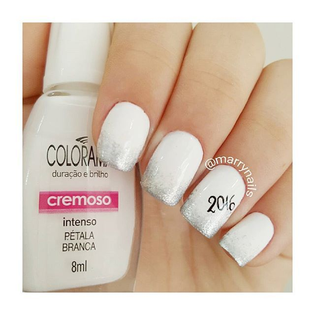 """Meninas mais uma da série unhas para o reveillon!"" Photo taken by @marrynails on Instagram, pinned via the InstaPin iOS App! http://www.instapinapp.com (12/31/2016)"