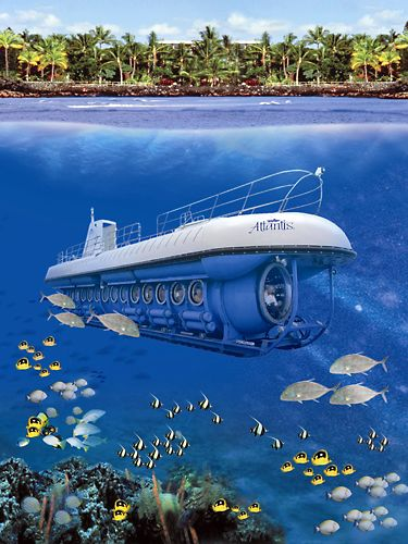 Kailua Kona Big Island Hawaii | Atlantis Adventures Submarine Tours Kona | Big Island Submarine Rides