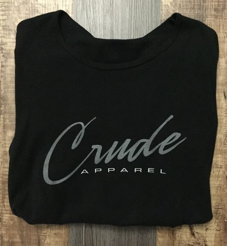 Women's Crude Apparel Shirt on their Facebook page