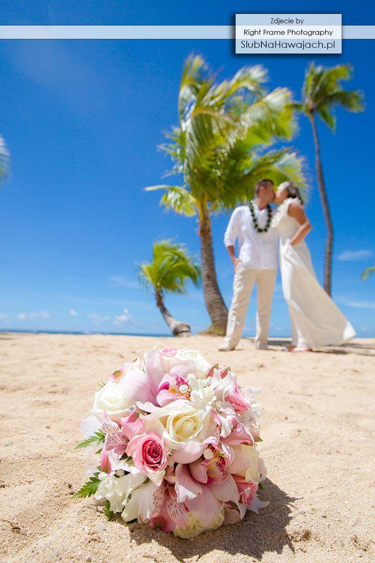 www.SlubNaHawajach.pl - Hawaje, Slub na Hawajach,  za granica, Slub w Tropikach, ślub na plaży, slub na plazy, ślub w plenerze, Egozytyczny, pomysl, sesja fotograficzna, śluby, wesele, Hawajski, bukiet slubny,
