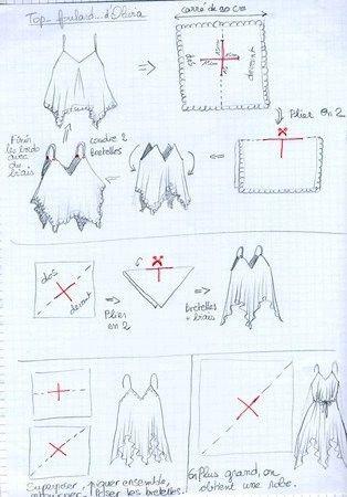 vestidos de verano de verano y espectaculares copas de los chales de coser