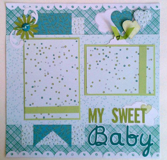 Baby Scrapbooking Templates Kubreforic