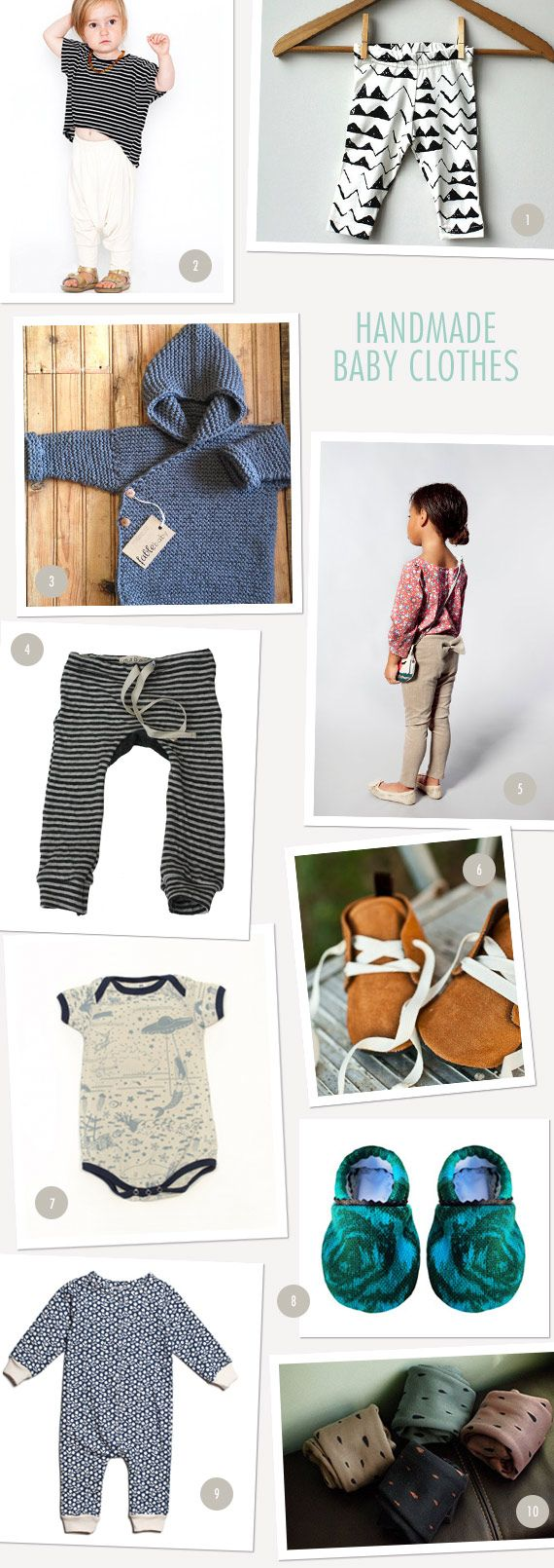 Thank you 100 Layer Cakelet for adding us to your feature - Handmade baby clothes round up. We really appreciate it.