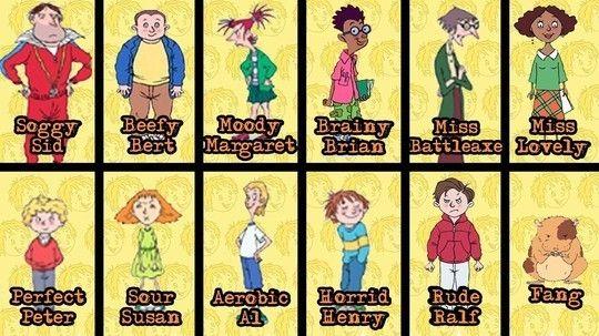 CITV - List of Horrid Henry characters