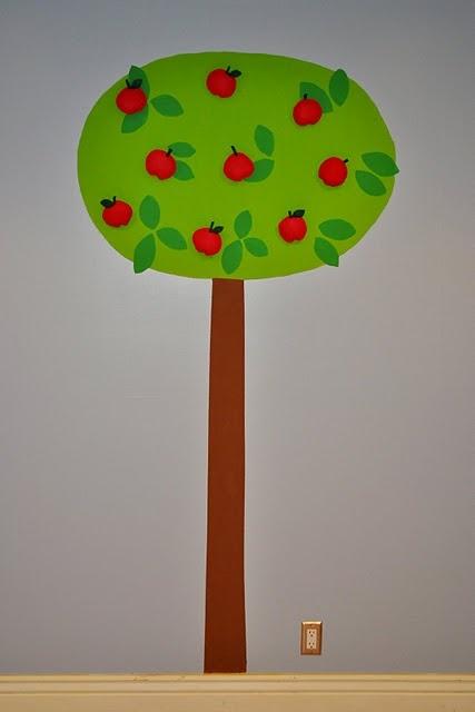 Interactive wall tree