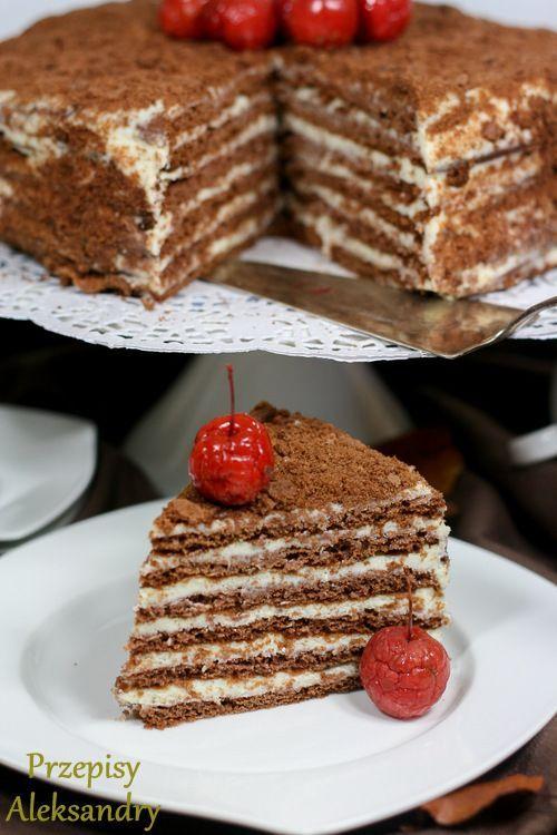Dzisiaj dzielę się z Wami przepisem na bardzo smaczny tort SPARTAK. Niewiele ciast mi smakuje, bo nie przepadam za słodyczami, a ten t...