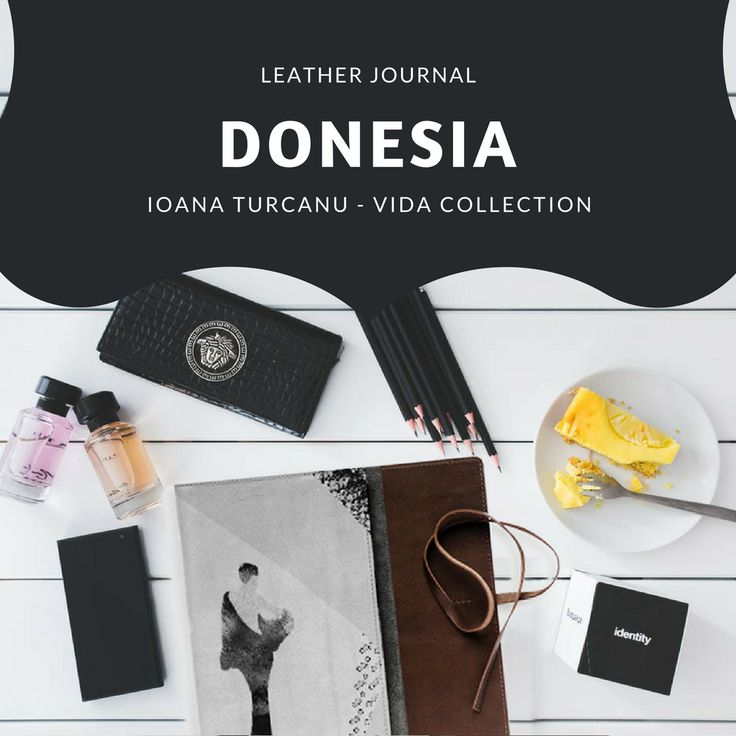 Donesia Leather Journal