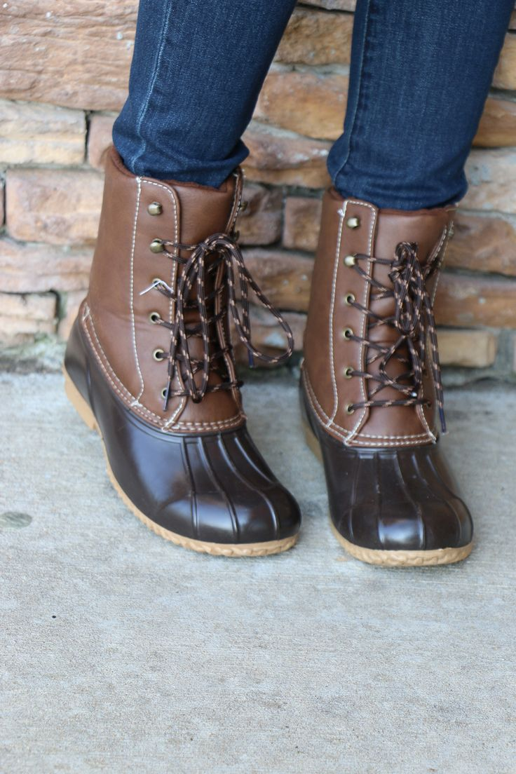 squall duck boot-brown