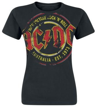 High Voltage - Australia Est. 1973 Vintage - Camiseta por AC/DC