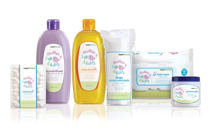 Lloydspharmacy: Mother & Baby Packaging Identity and Packaging Range