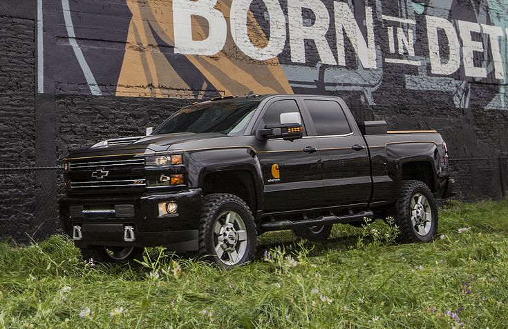 Chevy unveils Carhartt Silverado 2500HD, a sharp work truck literally covered in duck brown fabric