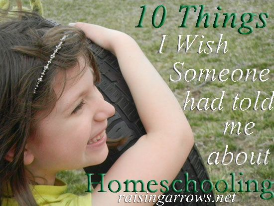 Homeschooling is never what you envision it to be when you first start out.  10 Things I Wish I Had Known!