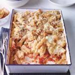 Mario Batali's Baked Ziti Arrabbiata Recipe
