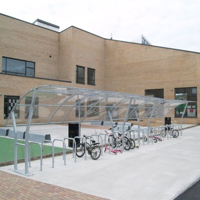 Cycle Shelter Type 2 | Larkin Street Products Manufacturers in Ireland and the UK