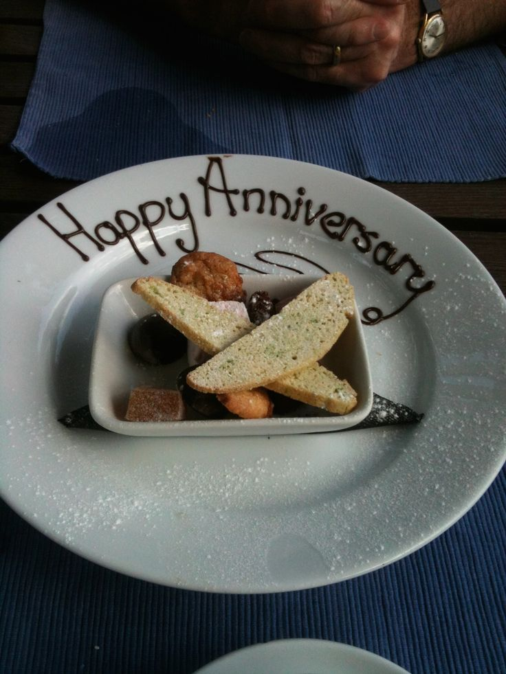 Special anniversary treat from http://www.theolivebranchpub.com