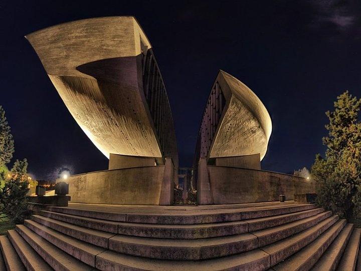 Pamätník Slovenskému národnému povstaniu - Banská Bystrica, Slovakia
