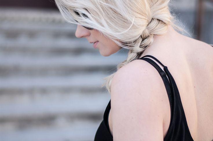 Fashionable plait. Find out more on: http://awake-fshn.pl/blog/glamorous