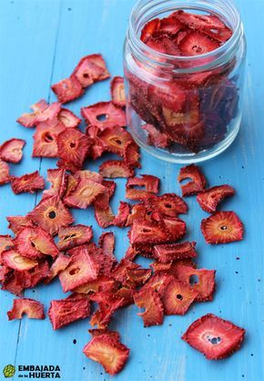 Fresas deshidratadas: cómo secar fresas