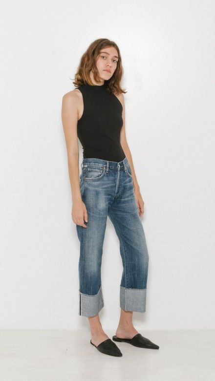 Parker Relaxed Cuffed Crop by Citizens Of Humanity