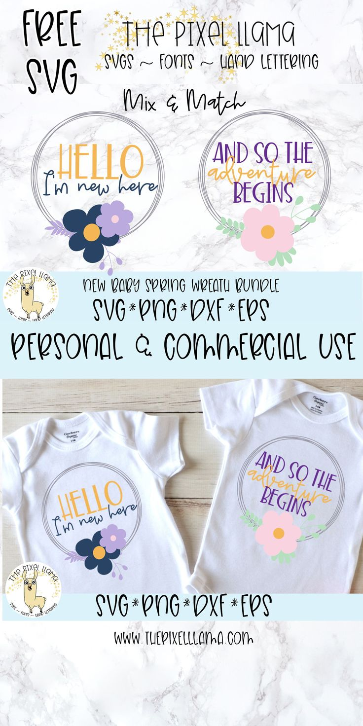Pin on Baby SVG Files Silhouette and Cricut cutting