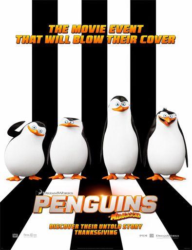 Poster de Los pingüinos de Madagascar