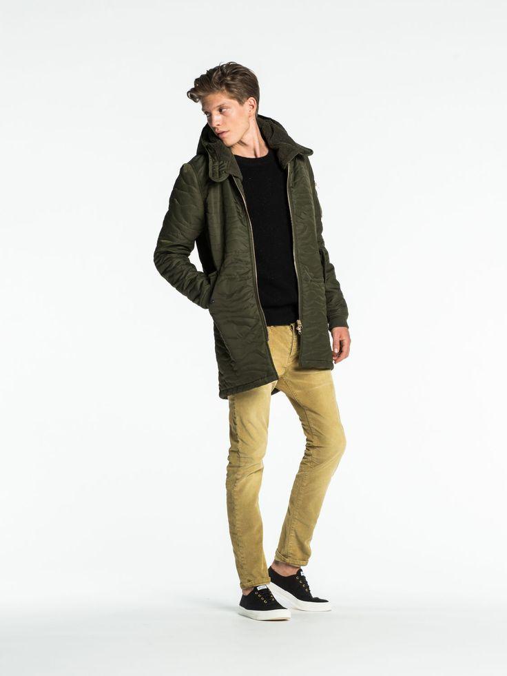 Long Bomber Jacket | Jackets | Men Clothing at Scotch & Soda