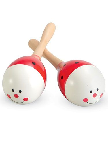 Smiley Face Maracas - $9 Excellent items all the kids love Measures 19cm in length 3yrs