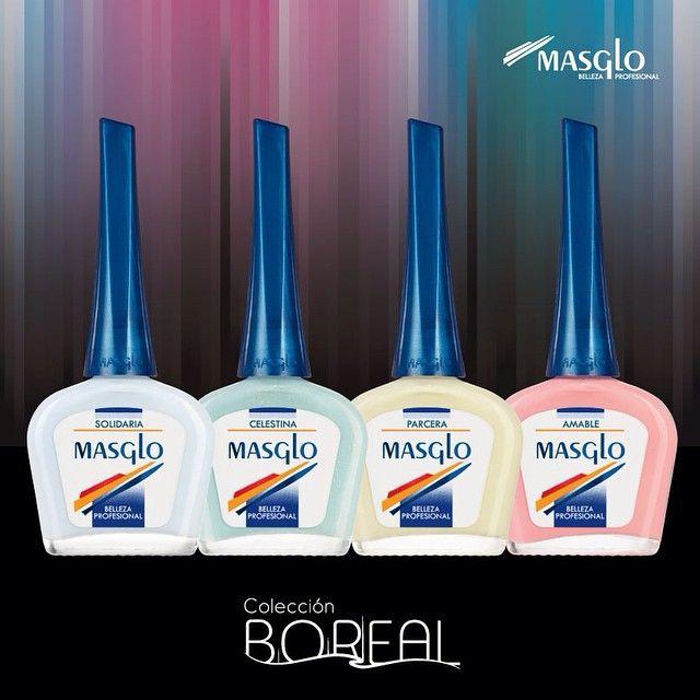 MASGLO Nuevos colores BOREAL #NUEVOS #TONOS #ESMALTE #MASGLO