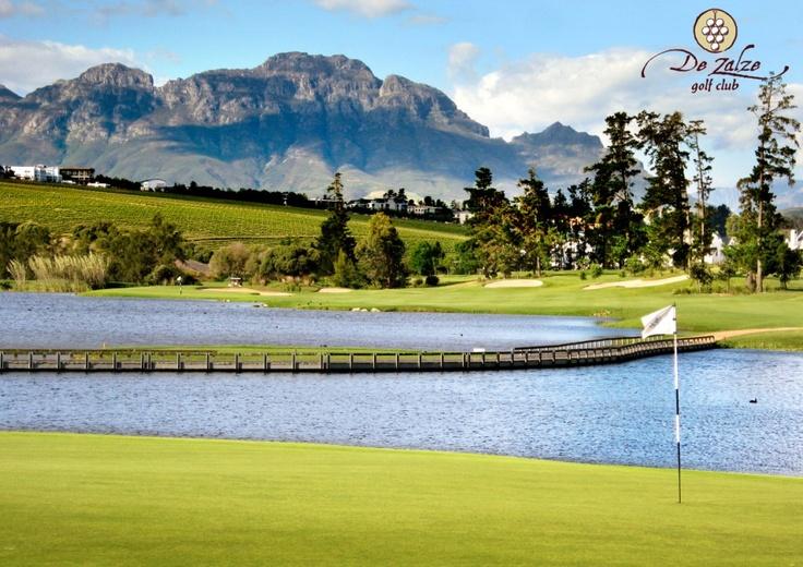 De Zalze Golf Course, Cape Town South Africa. Stunning setting!!