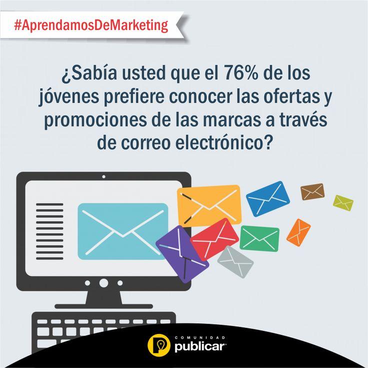 #AprendamosDeMarketing El envío de correo masivo, junto a Google y las redes sociales, son las técnicas más utilizadas por las Pymes dentro de sus estrategias de marketing digital.