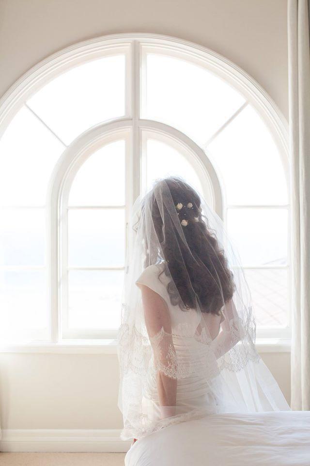 Michelle, simple and romantic Sposa di Giò. Wedding in Santa Monica, US. | #lesposedigio #weddingdress #digio |  ph. Danny Baker at Epic Imagery | www.lesposedigio.com
