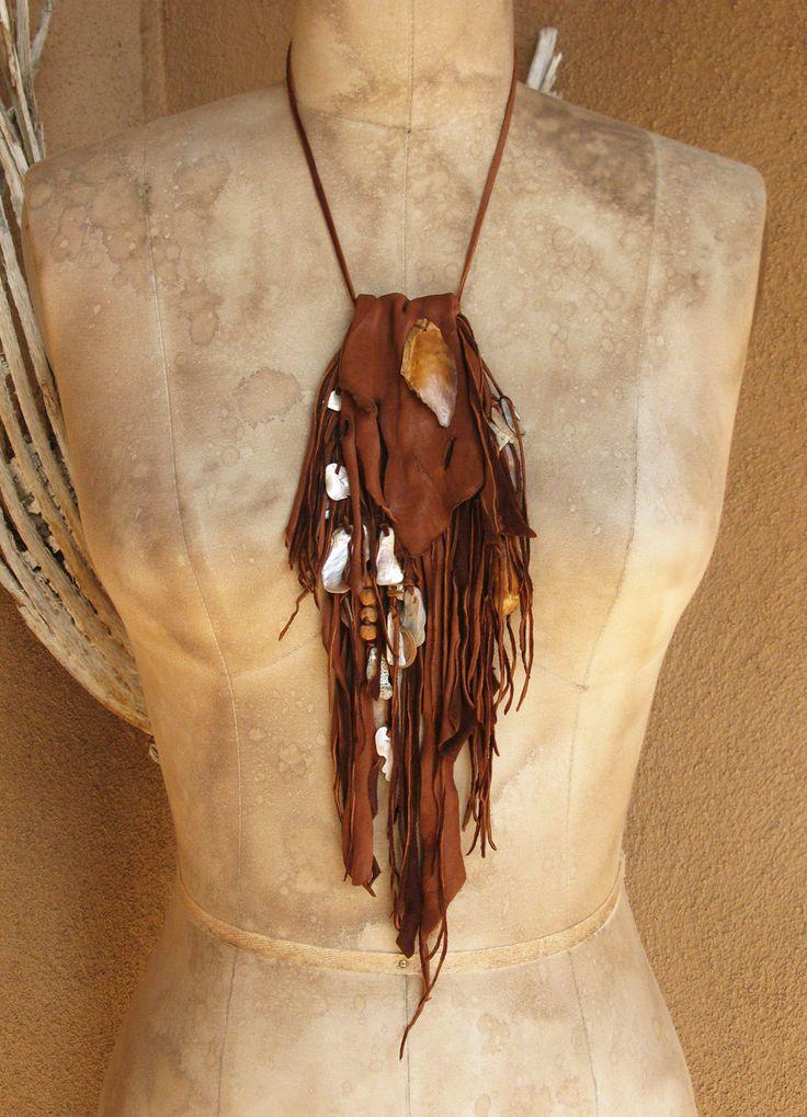 :) medicine bag - I like the uneven foldover part