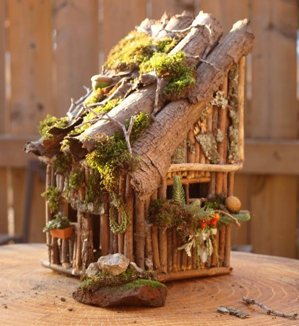By Hook and Thread: fairy house